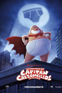 Las aventuras del Capitán Calzoncillos: la película