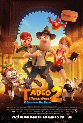 Tadeo 2, el explorador perdido: El secreto del Rey Midas