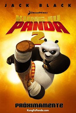 kung fu panda 2 cartelera