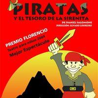 Piratas y el tesoro de la Sirenita