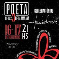 Poeta de las tres de la mañana: homenaje a Horacio Ferrer