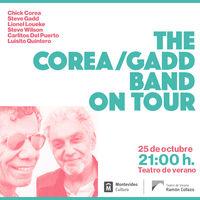 The Corea/Gadd band on tour