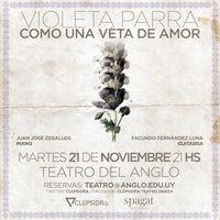 Violeta Parra, como una veta de amor