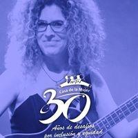 Samantha Navarro en concierto