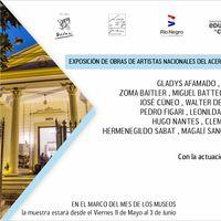 Artistas nacionales de la pinacoteca del BCU