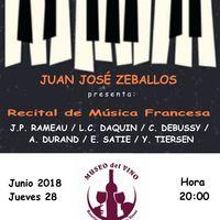 Recital de compositores franceses