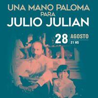 Una mano paloma para Julio Julián en Sala Zitarrosa