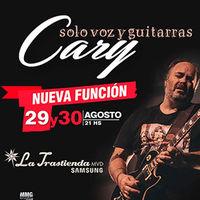 Cary - Solo voz y guitarras