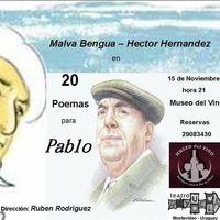 20 poemas para Pablo