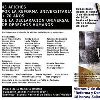 43 Afiches por la Reforma Universitaria