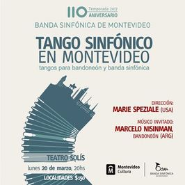 Tango Sinfónico en Montevideo