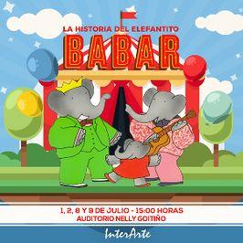 La historia del elefantito Babar