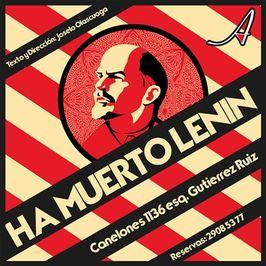 Ha muerto Lenin