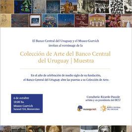 Colección de arte del Banco Central del Uruguay - Muestra