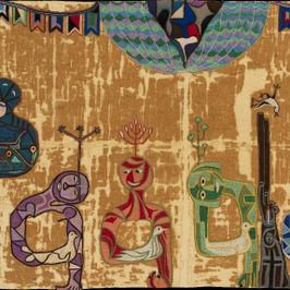 Contra la guerra. Lectura de una arpillera de Violeta Parra.