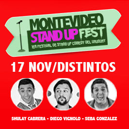 1er Festival de Stand Up del Uruguay: Distintos