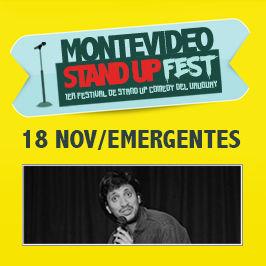 1er Festival de Stand Up del Uruguay: Emergentes