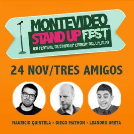 1er Festival de Stand Up del Uruguay: Otros tres amigos