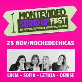1er Festival de Stand Up del Uruguay: Noche de chicas
