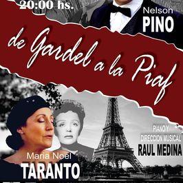 De Gardel a la Piaf