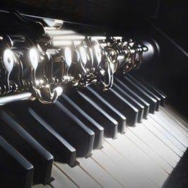 Vientos y piano.