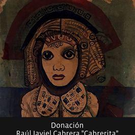Donación Raúl Javiel Cabrera