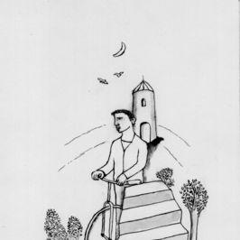 Dibujos para La bicicleta etrusca