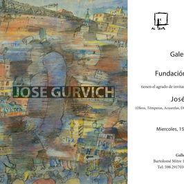 Gurvich: óleos, témperas, acuarelas, dibujos, esculturas, grabados y serigrafías
