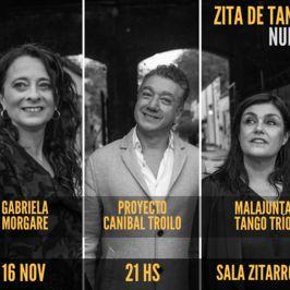 Gabriela MorgareMalajunta TríoProyecto Caníbal Troilo