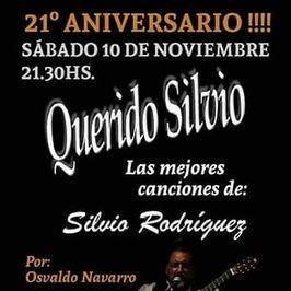 Querido Silvio - 21° Aniversario