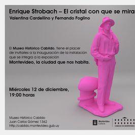 Enrique Strobach. El cristal con que mira
