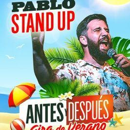 Pablo Stand Up: Antes y después