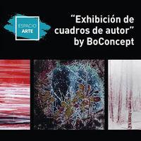 Exhibición de cuadros de autor by BoConcept