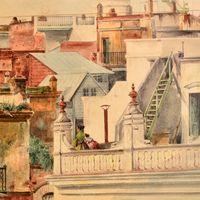 Acuarelistas Franceses del siglo XIX