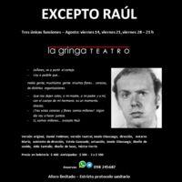 Excepto Raúl