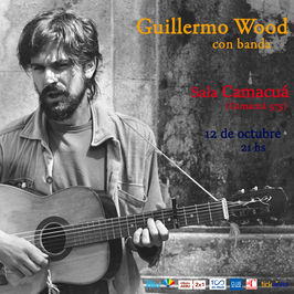 Guillermo Wood con banda