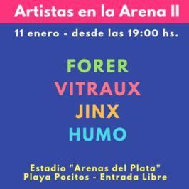 Artistas en la Arena II