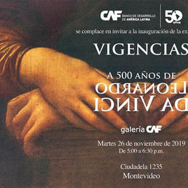 Vigencias. A 500 años de Leonardo Da Vinci