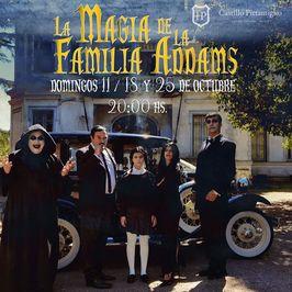 La magia de la Familia Adams