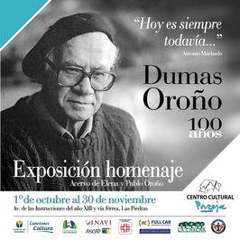 Exposición Homenaje 100 Dumas Oroño